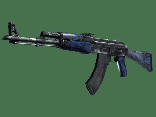 AK-47 Синий глянец