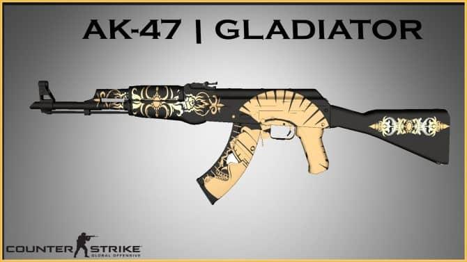 AK-47-GLADIATOR для CS:GO