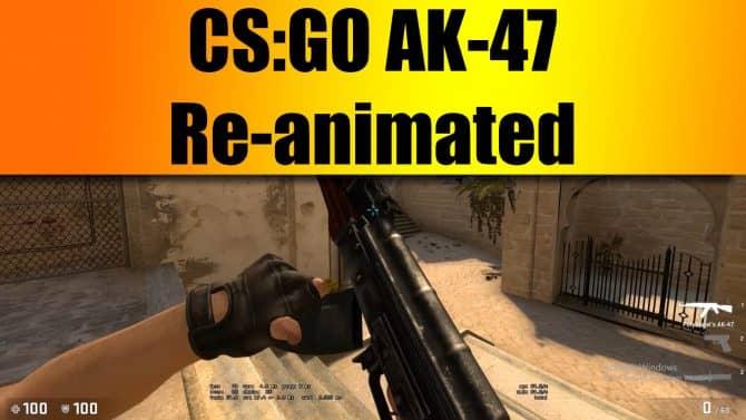 AK-47 Re-animated для CS:GO