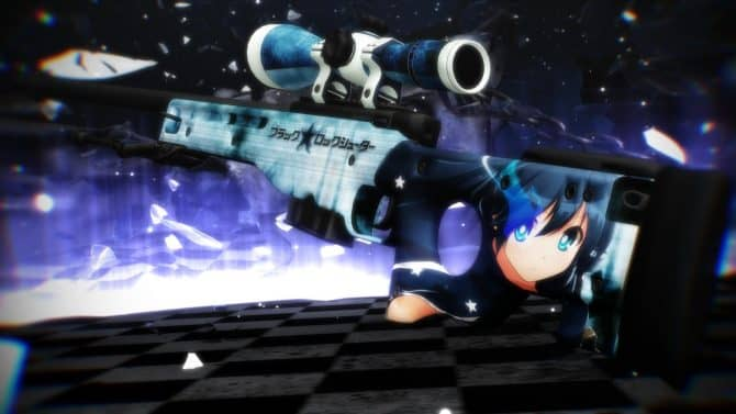 AWP-Black Rock Shooter для CS:GO