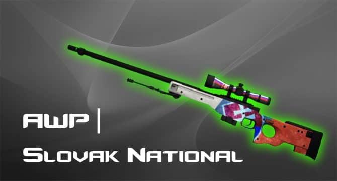 AWP - Slovak National для CS:GO