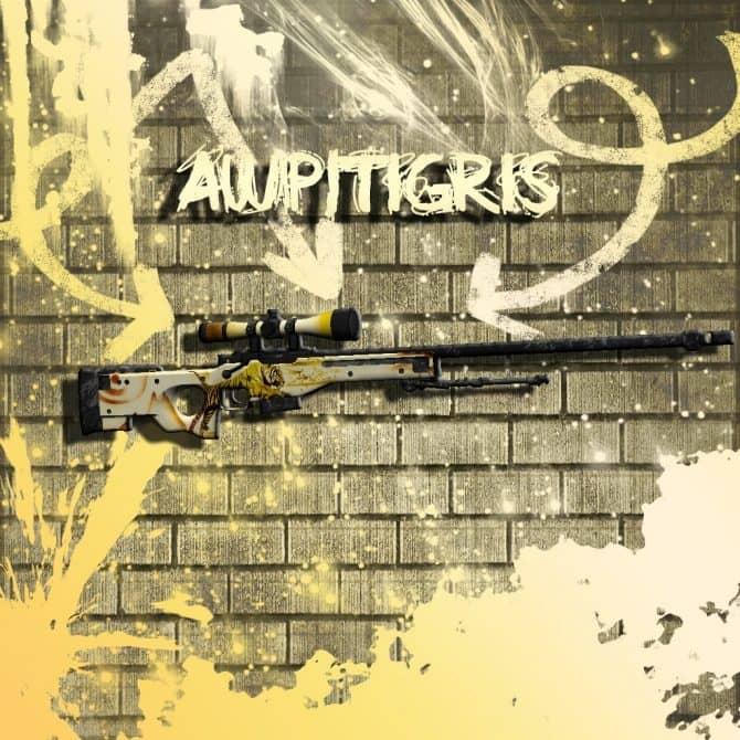 Awp|Tigris для CS:GO
