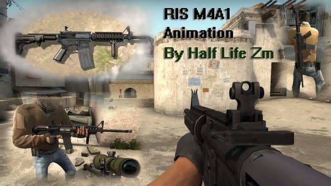 CODOL animation M4A1 для CS:GO