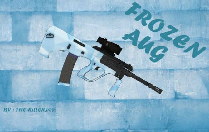 Frozen AUG для CS:GO