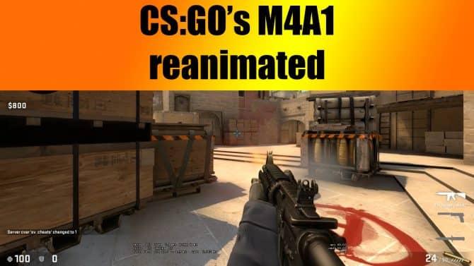 M4A1 reanimated для CS:GO