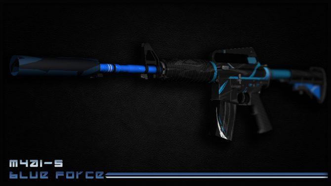 M4a1-S - Blue Force для CS:GO