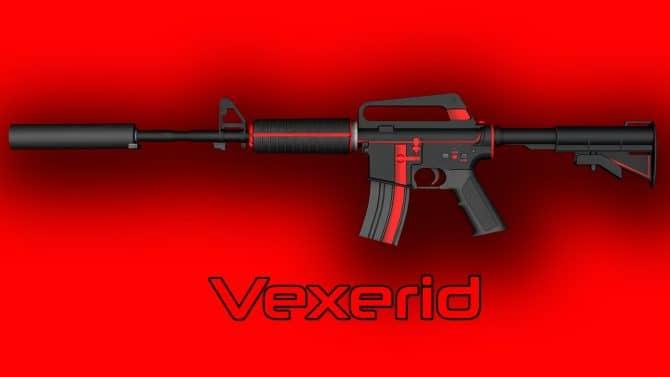M4A1-S - Vexerid для CS:GO