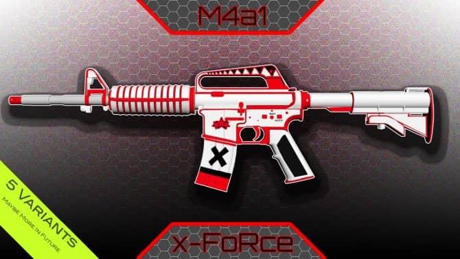 M4A1-S - X-FoRcE для CS:GO