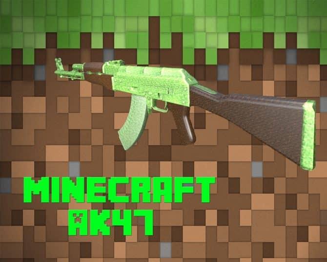 Minecraft AK47 для CS:GO