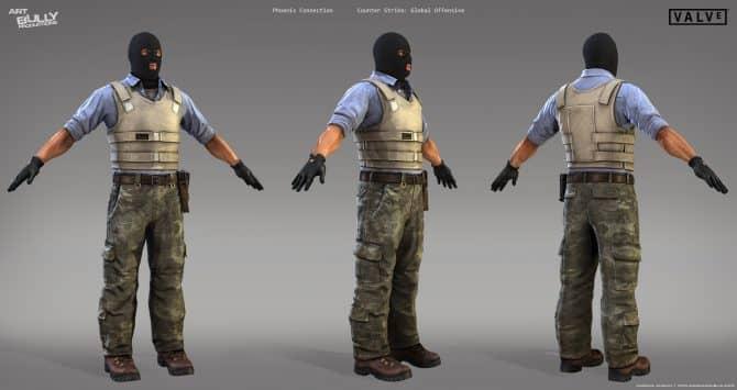Одежда террористов