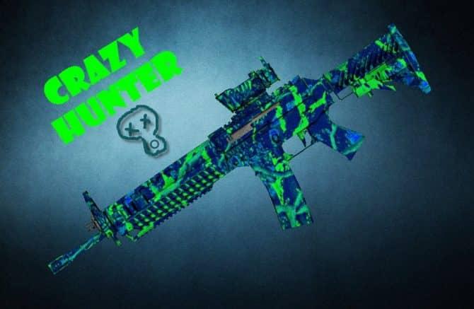 SG-553 Crazy Hunter для CS:GO