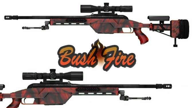 SSG-08 Bush Fire для CS:GO