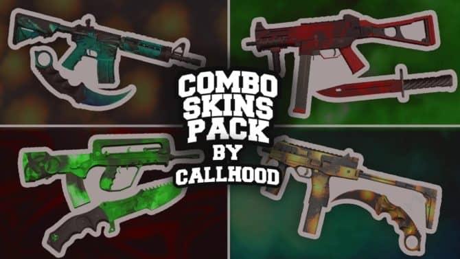 COMBO SKINS PACK для CS:GO