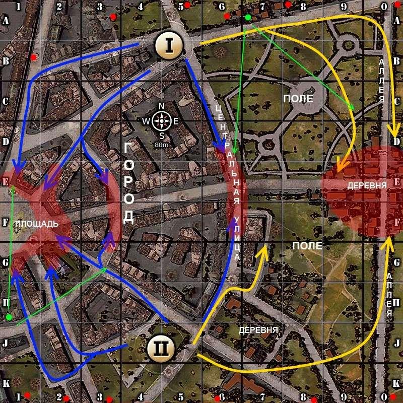 Карта Руинберг в World of tanks