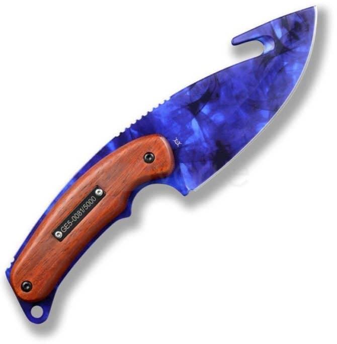 Нож с лезвием крюком кс го