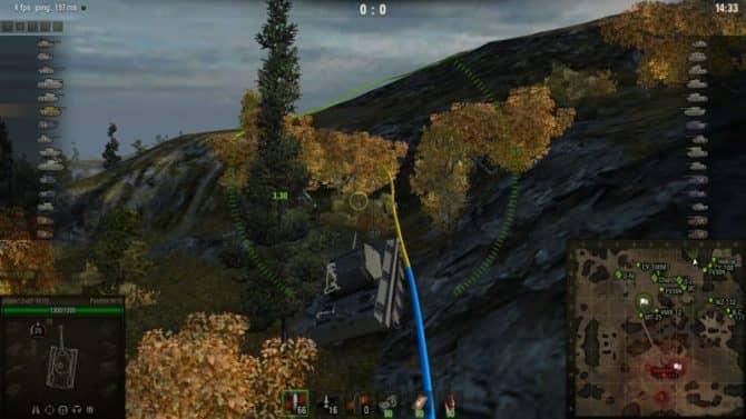 подсадки в 3D для WoT скриншот 2