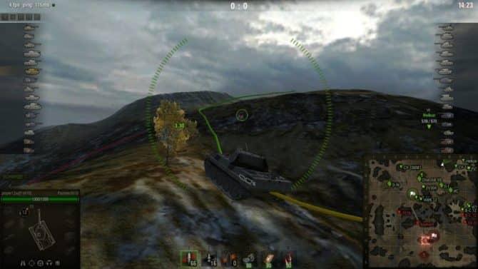 подсадки в 3D для WoT скриншот 3