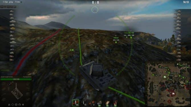 подсадки в 3D для WoT скриншот 4