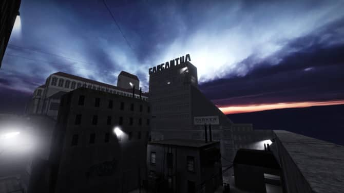 Rooftop Runaway Night Extended для CS:GO