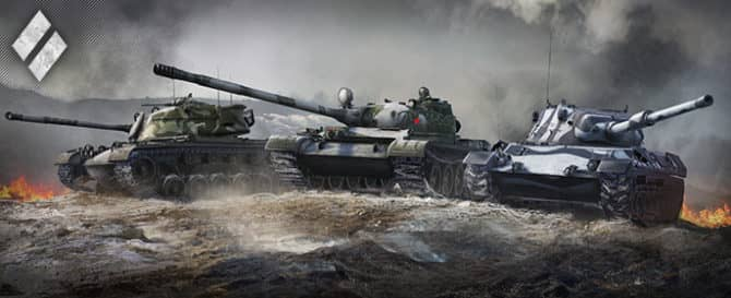 средние танки в World of Tanks