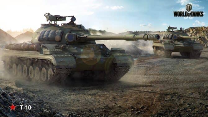 Т-10 в World Of Tanks скриншот 1