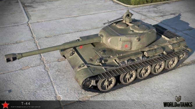 Т-44 в World Of Tanks скриншот 1