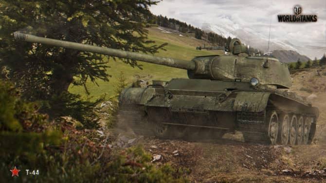 Т-44 в World Of Tanks скриншот 2