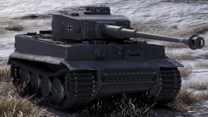 Tiger I в World of Tanks скриншот 2