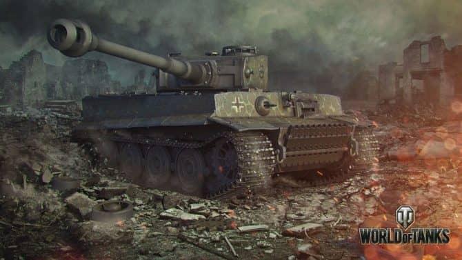 Tiger I в World of Tanks скриншот 3