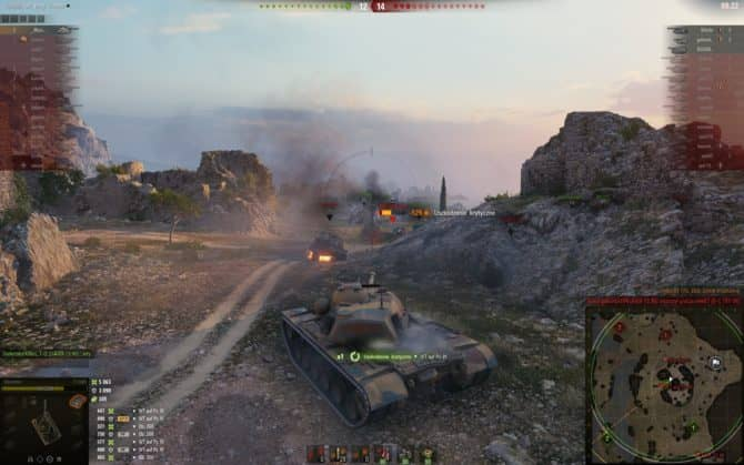 wot геймплей скриншот 3