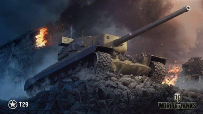 Т29 в World of Tanks 2