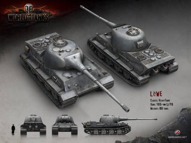 WoT Lowe в World Of Tanks 1
