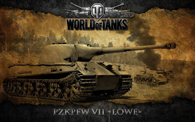 WoT Lowe в World Of Tanks 2