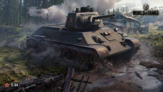 Т34 World of Tanks 1