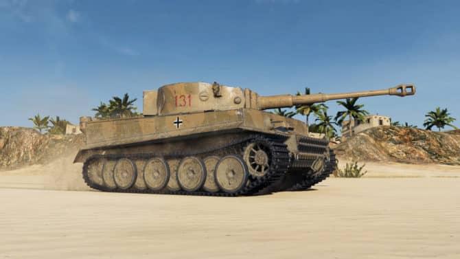 Tiger 131 из World of Tanks 1