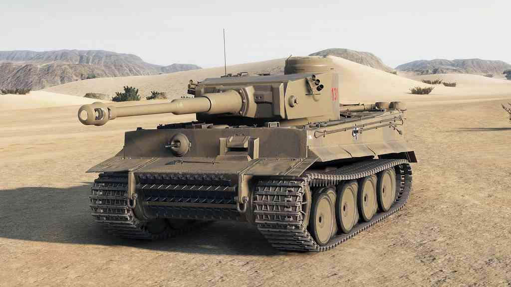 Tiger 131 из World of Tanks 4