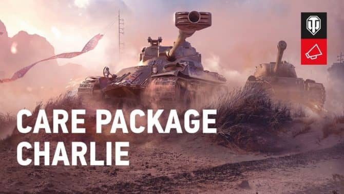 World of Tanks Care Package Charlie