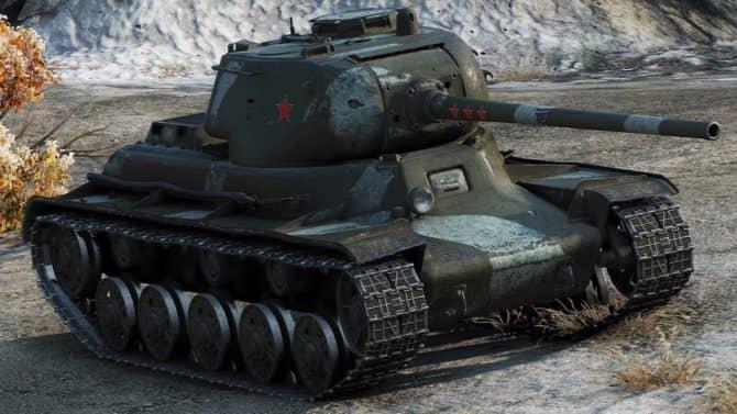 КВ-13 WOT 3