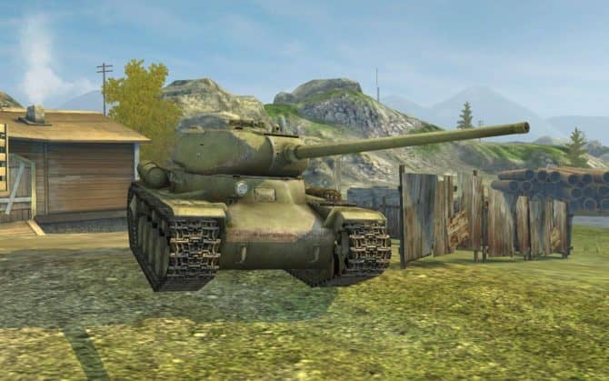 КВ-13 WOT