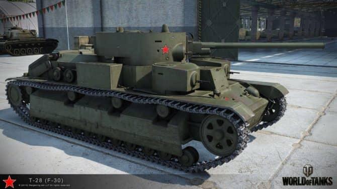 Т-28 WOT 3