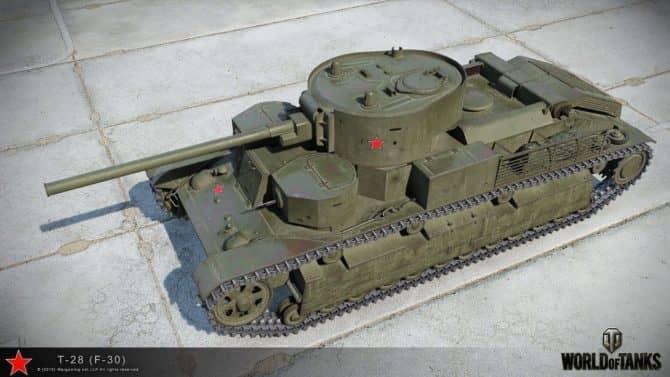 Т-28 WOT