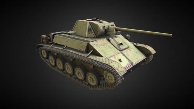 Т-70 WOT
