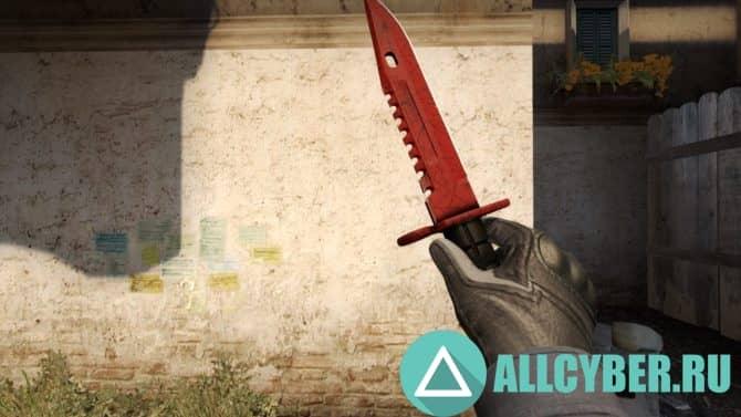 Как получить нож в кс го