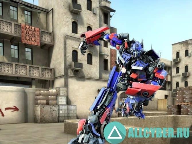 Спрей Optimus Prime Для Cs:S