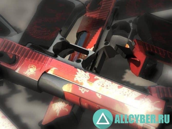 Оружие Admin deagle для CS:GO