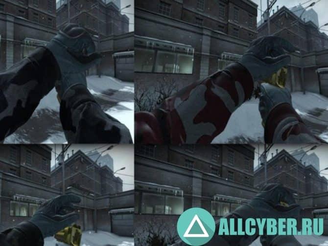 Оружие Spetsnaz Sleeve для CS:GO