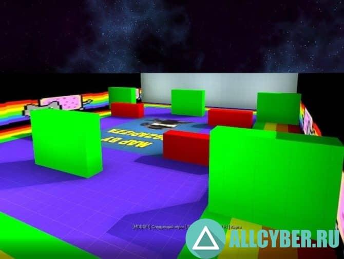 Карта am_nyanspace Для Cs:Go