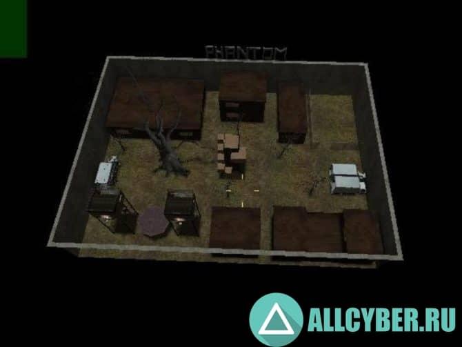 Карта zm_csk_phantom_town_vb2 для CS:S