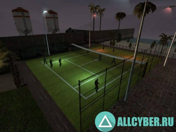 Карта he_tennis_go Для Cs:Go