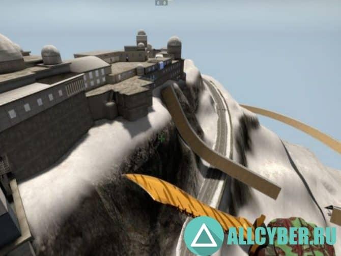 Карта surf_snowslide Для Сервера Cs:Go